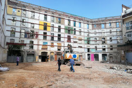 Estabilización de fachadas en Barcelona